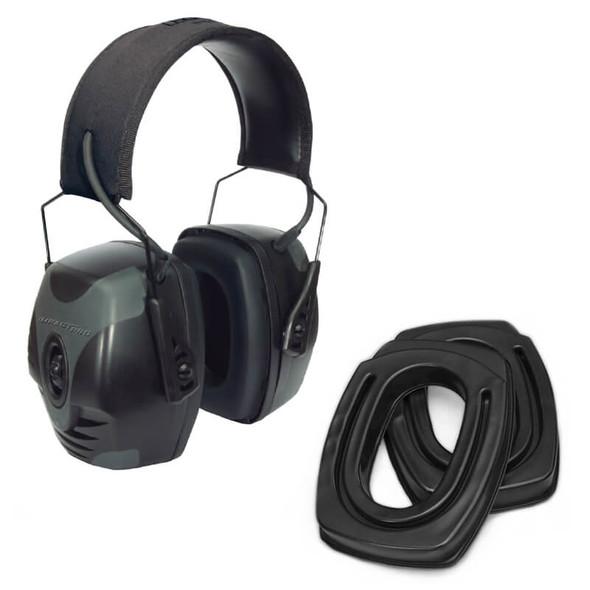 SightLines Ear Cushions & Howard Leight Impact Pro Earmuff Bundle