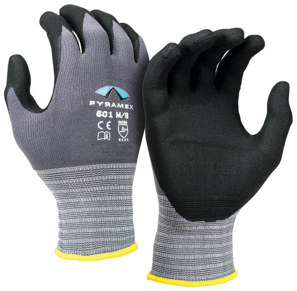 Pyramex GL601 Series Micro-Foam Nitrile Gloves
