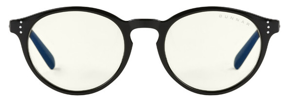 Gunnar Attache Computer Glasses with Onyx Frame and Liquet Lens - Front