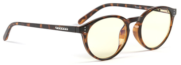 Gunnar Attache Digital Performance Eyewear with Tortoise Frame and Amber Lens
