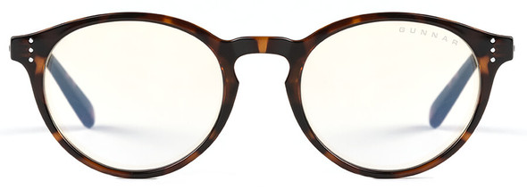 Gunnar Attache Computer Glasses with Tortoise Frame and Liquet Lens - Front