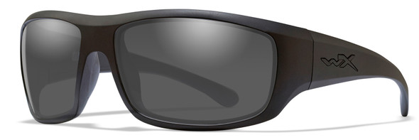 Wiley X Omega Safety Sunglasses with Matte Black Frame and Smoke Lens