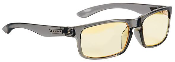 Gunnar Enigma Computer Glasses with Smoke Frame and Amber Lens
