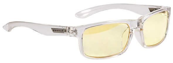 Gunnar Enigma Computer Glasses with Void Frame and Amber Lens