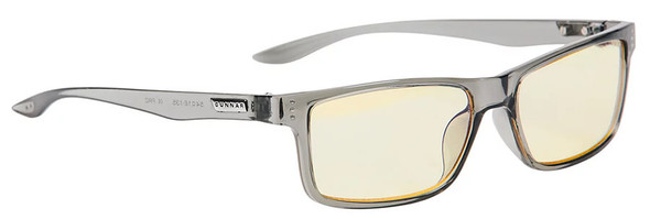 Gunnar Vertex Computer Glasses with Smoke Frame and Amber Lens 06701