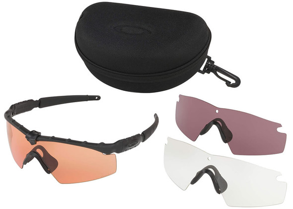 Oakley SI Ballistic M Frame 2.0 Array with Matte Black Frame and Clear, TR22 and TR45 Lenses - Kit
