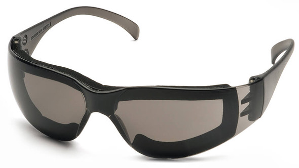 Pyramex Intruder Foam-Padded Safety Glasses with Gray Anti-Fog Lens