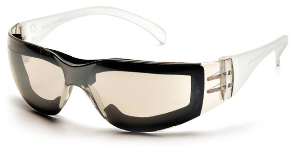 Pyramex Intruder Foam-Padded Safety Glasses with Indoor-Outdoor Anti-Fog Lens