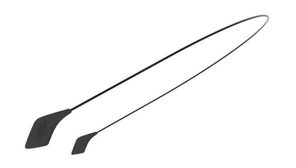 Oakley SI Sunglass Large Leash Kit, Black