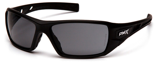 Pyramex Velar Safety Glasses with Black Frame and Gray Lens SB10420D