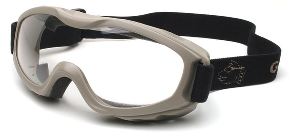 Guard Dogs Evader 2 Safety Goggles with Earth Frame and Clear Anti-Fog Lens