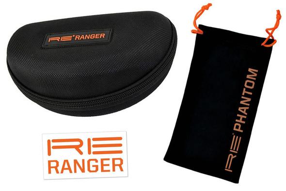 Randolph Phantom 2.0 Protective Case, Microfiber Cloth and RE Ranger Decal