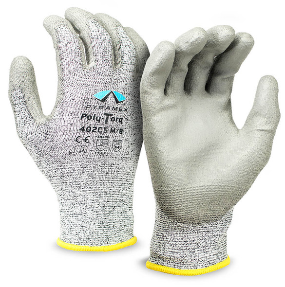 Pyramex GL402C5 Series Poly-Torq Cut-Resistant Gloves