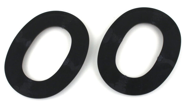 Noisefighters SightLines Adapter Plates For 3M Peltor Headsets - Backside