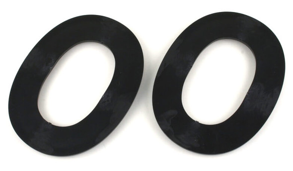 Noisefighters SightLines Adapter Plates For Invisio, Sordin, TCI Headsets - Backside