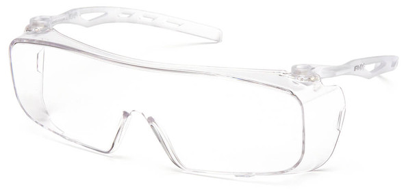 New Bolle TRYON Overspec Safety Glasses Anti-Scratch Anti-Fog Clear Smoke Lens
