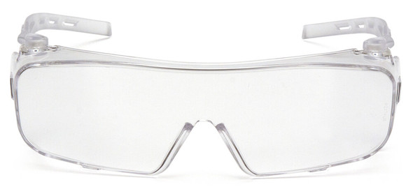 Pyramex Cappture Safety Glasses with H2MAX Clear Anti-Fog Lens - Front
