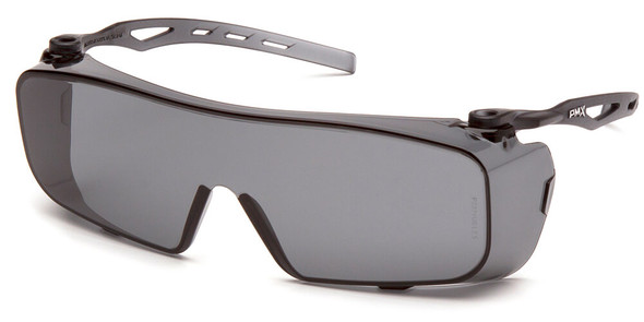 Pyramex Cappture Safety Glasses with H2MAX Gray Anti-Fog Lens