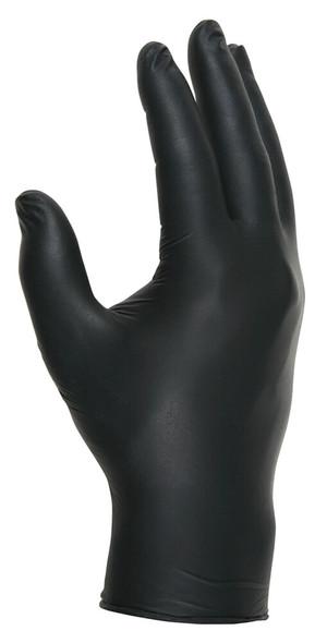 MCR NitriShield Stealth Disposable Industrial-Grade 3-mil Nitrile Gloves