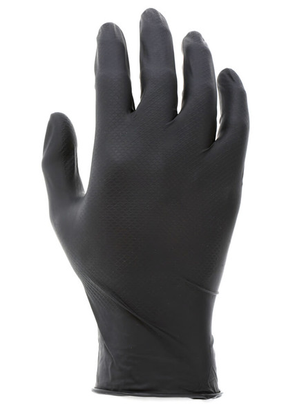 MCR NitriShield Disposable Nitrile Gloves w/Grippaz Technology 4.5-mil