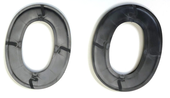 Noisefighter Sightlines Adapter Plates for Peltor Optime and Similar Headsets - Back