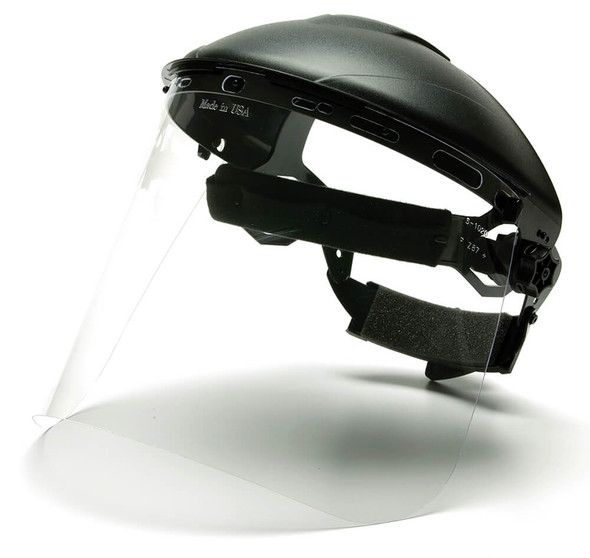 Pyramex Ridgeline Headgear with Face Shield Kit