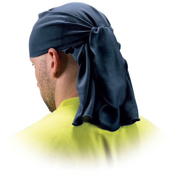 Pyramex CSKT2 Skull Cap with Ties - Blue