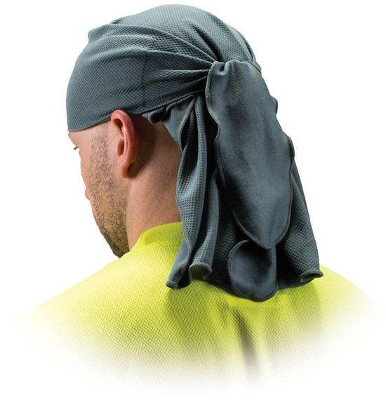 Pyramex CSKT2 Skull Cap with Ties - Gray