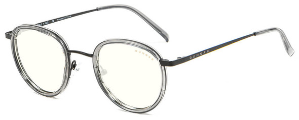 Gunnar Atherton Computer Glasses with Onyx Frame and Clear Lens