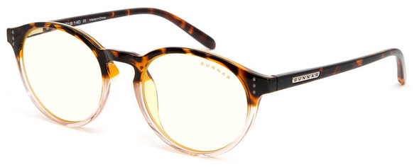 Gunnar Attache Computer Glasses with Tortoise-Rose Fade Frame and Clear Lens