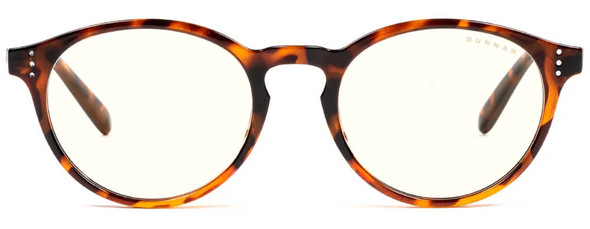 Gunnar Attache Computer Reading Glasses with Tortoise Frame and Clear Lens - Front