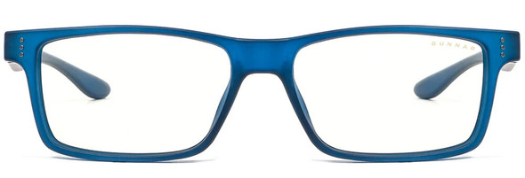 Gunnar Cruz Computer Glasses with Navy Frame and Clear Lens - Front