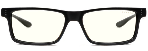 Gunnar Cruz Computer Glasses with Onyx Frame and Clear Lens - Front