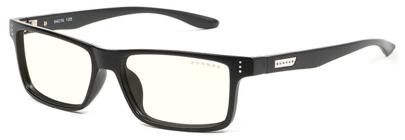 Gunnar Cruz Computer Glasses with Onyx Frame and Clear Lens