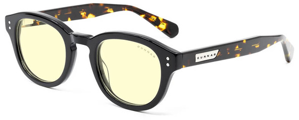 Gunnar Emery Computer Glasses with Onyx Jasper Frame and Amber Lens