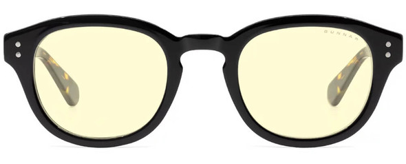 Gunnar Emery Computer Glasses with Onyx Jasper Frame and Amber Lens - front