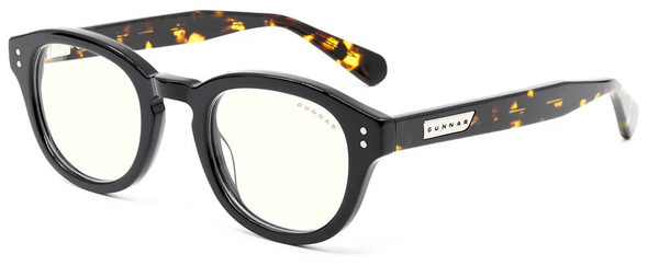 Gunnar Emery Computer Glasses with Onyx Jasper Frame and Clear Lens