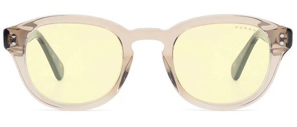 Gunnar Emery Computer Glasses with Rose Tortoise Frame and Amber Lens - Front