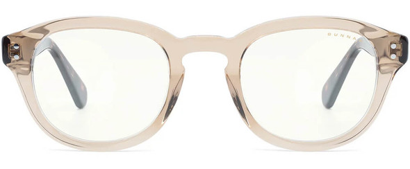 Gunnar Emery Computer Glasses with Rose Tortoise Frame and Clear Lens - Front
