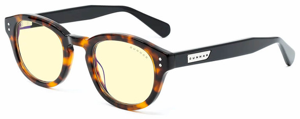 Gunnar Emery Computer Glasses with Tortoise Onyx Frame and Amber Lens