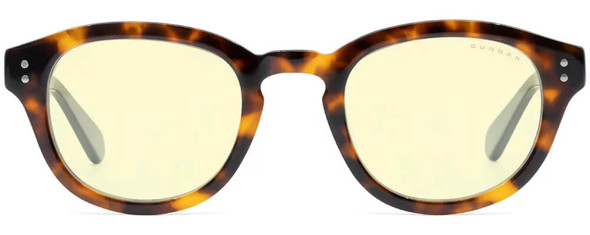 Gunnar Emery Computer Glasses with Tortoise Onyx Frame and Amber Lens - Front