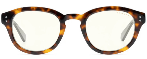 Gunnar Emery Computer Glasses with Tortoise Onyx Frame and Clear Lens - Front