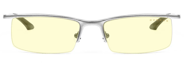 Gunnar Emissary Computer Glasses with Mercury Frame and Amber Lens - Front