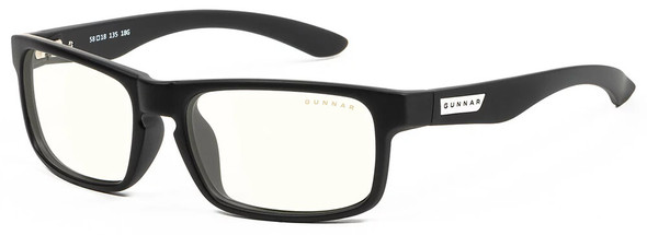 Gunnar Enigma Computer Glasses with Onyx Frame and Clear Lens