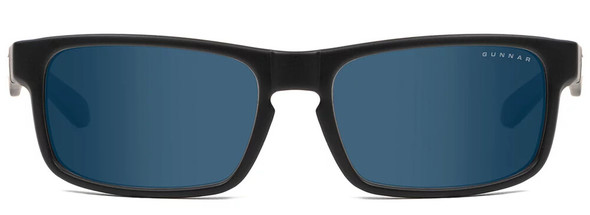 Gunnar Enigma Sunglasses with Onyx Frame and Sun Lens - Front