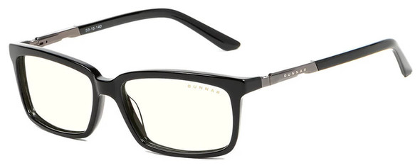 Gunnar Haus Computer Glasses with Onyx Frame and Clear Lens