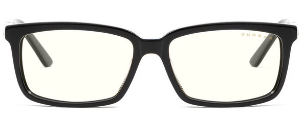 Gunnar Haus Computer Glasses with Onyx Frame and Clear Lens - Front