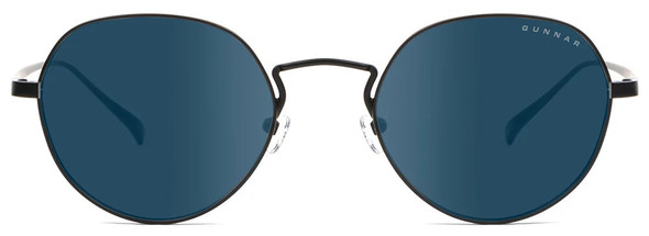 Gunnar Infinite Sunglasses with Onyx Frame and Sun Lens - Front