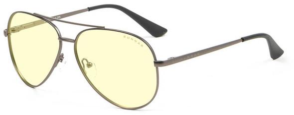 Gunnar Maverick Computer Glasses with Gunmetal Frame and Amber Lens