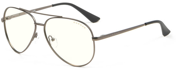 Gunnar Maverick Computer Glasses with Gunmetal Frame and Clear Lens